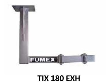 Fumex Deckenkonsole TIX 180EXH für ATEX-Absaugarme R EXHC/EXH