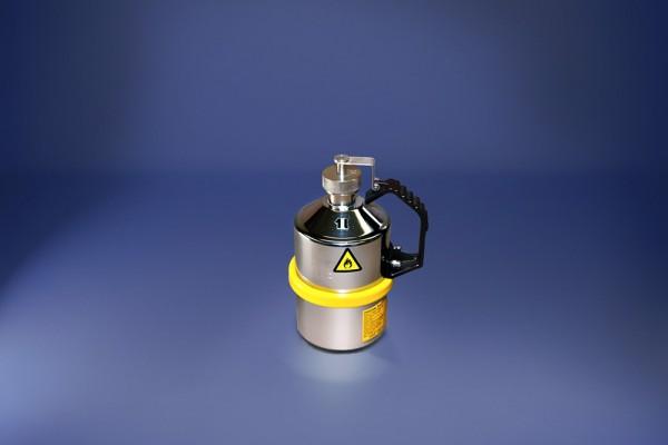Original Salzkotten Sicherheits-Laborkanne Typ 101, 1 Liter, Schraubkappe, Überdruckventil