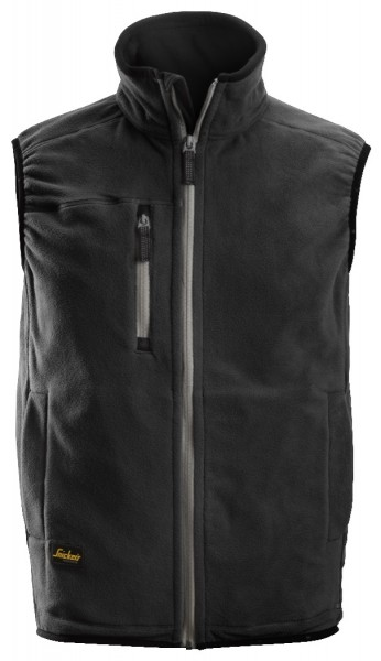 Snickers Workwear 8014 A.I.S. Fleece Arbeitsweste mit Kragen