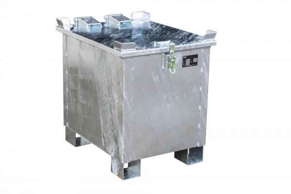 Bauer Lithium-Ionen Lagerbehälter Typ LIL aus Stahl, feuerverzinkt, PyroBubbles® Füllstoff