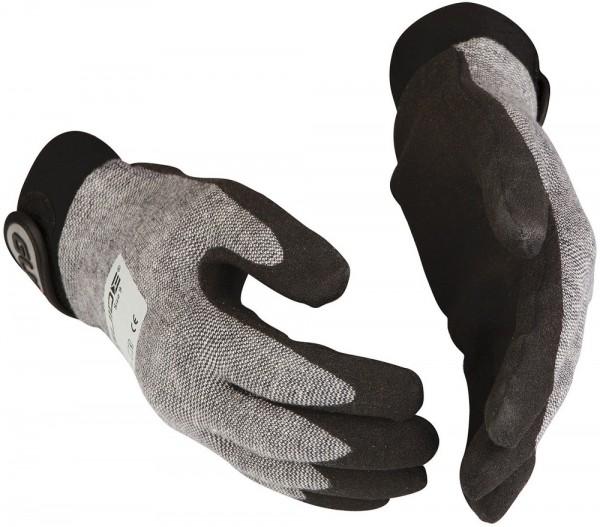 Sicherheitshandschuhe 656 Guide aus Baumwolle, HPT-Polymer-Beschichtung, Klettverschluss