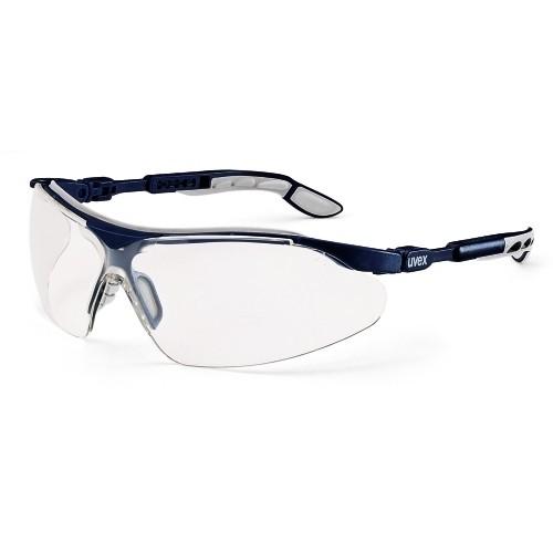 uvex Bügelbrille 9160085 i-vo, blau/grau, PC farblos, verstellbarer Bügel