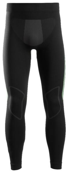Snickers Workwear 9428 FlexiWork Nahtlose Leggings, schwarz/grau