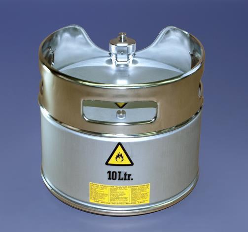 Original Salzkotten Sicherheits-Standgefäß Typ 202, 25 Liter mit Schraubkappe, UN-Zulassung