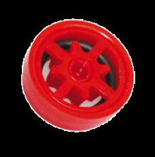B-Safety Automatischer Mengenregulator 97B50 rot, für Körper-Notduschen