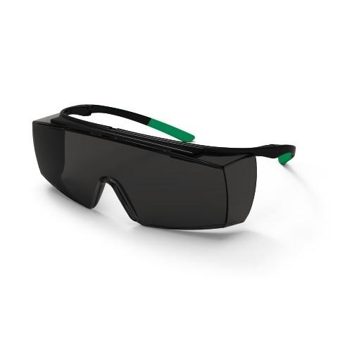 uvex Schweißer-Überbrille 9169545 super f OTG, PC grau, Schutzstufe 5, Bügel-Scharnier-Konzept