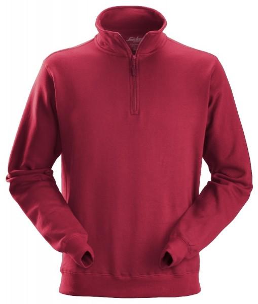 Snickers 2818 Sweatshirt mit Halbreißverschluss