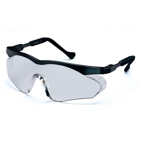 uvex Schutzbrille 9197075 skyper sx2 schwarz, PC farblos, kratzfest, chemikalienbeständig