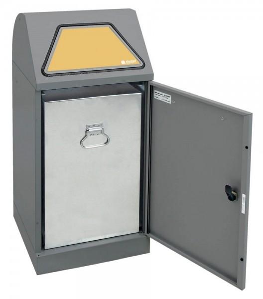 Stumpf Metall Abfalltrennung Modul-Vario 60, verzinkter Innenbehälter, 60 Liter