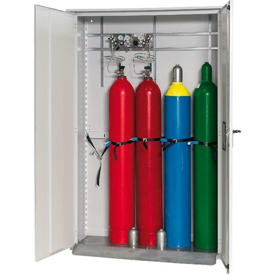 Gasflaschenschrank G-OD Modell GOD.215.135 für 5 x 50-Liter-Gasflaschen für Außenbereich