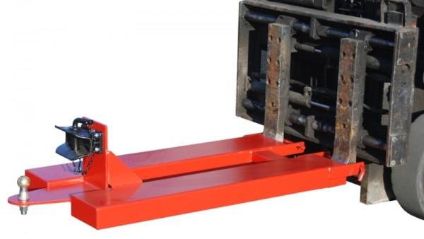 Bauer Rangierhilfen Typ RH-RAK mit Kupplungskugel, Anhängerkupplung selbsttätig RO 244-2 mit Bolzen