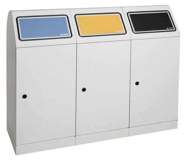 Stumpf Metall Abfalltrennung Flex-M, 3-fach Station, ProSlide-System, 70 Liter