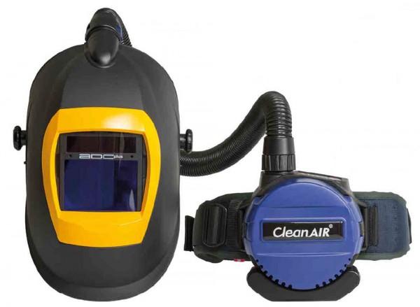 CleanAIR Schweißhaube CA-20, integrierte Luftverteilung, ADF Balder Grand V9–13 DS