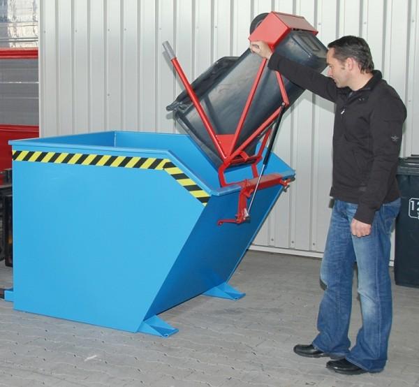 Bauer Schwenkvorrichtung Typ SV 1500 für Kippbehälter Typ GU 1500