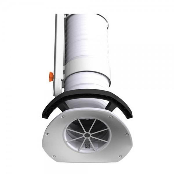 Fumex Absaugarm Typ PR 1500, Weiß, Wandkonsole, Schweißarbeiten in der Industrie