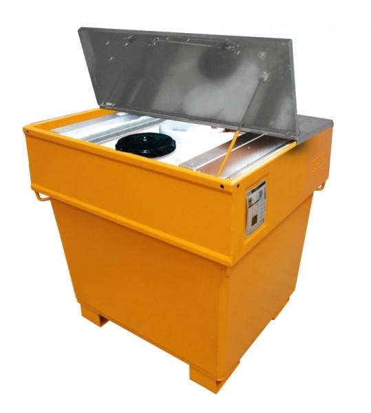 Bauer verzinkter Deckel für Mobicont Typ M 800, 2-teilig, Abschließbar
