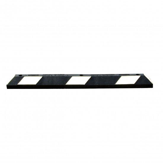 Checkers Park-It® Parkrahmen, Gummi, 120 x 15 x 10,16 cm, für Parkplätze