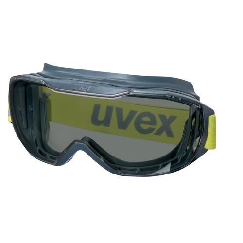uvex Vollsichtbrille 9320281 megasonic PC grau, kratzfest, beschlagfrei