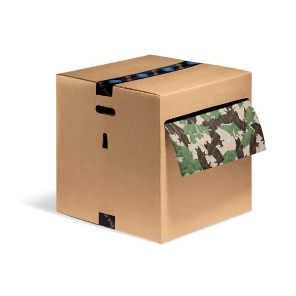 Ham-O Universal Saugrollen, Heavy, grün, 41 cm x 46 m, 1 Rolle im Karton