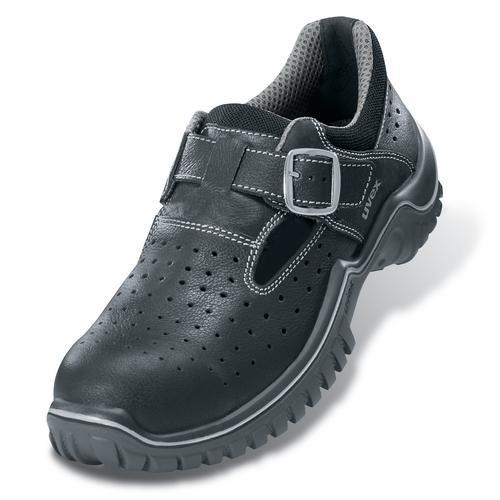 Sicherheitsschuhe uvex motion classic 2.0 Sandale S1 SRC, Modell 6913, schwarz