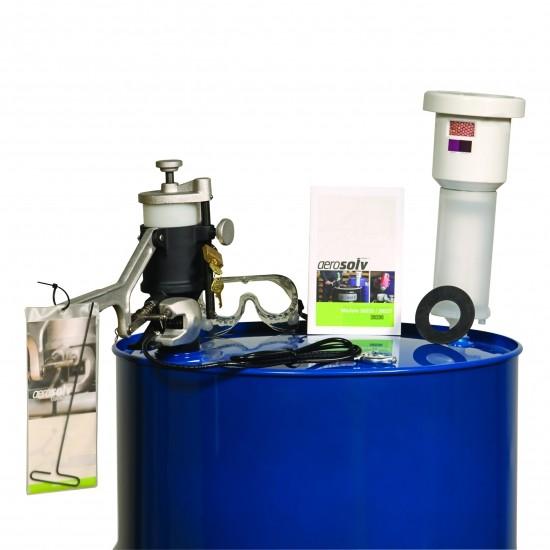 Justrite Aerosolv® Super-System 28230, Recycling von Aerosoldosen