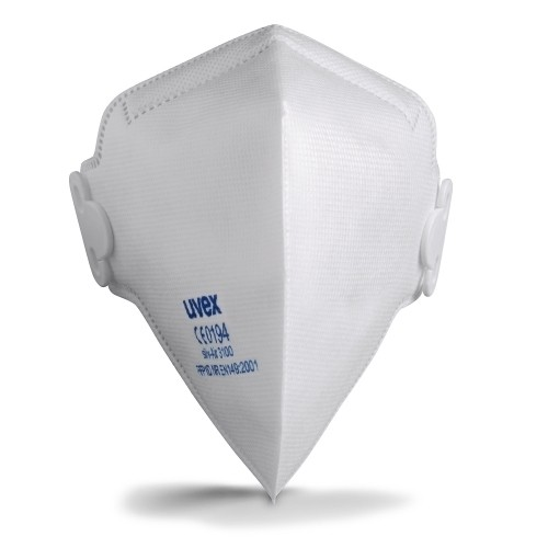 uvex Atemschutzmaske silv-Air c 3100 FFP1 NR D, Faltmaske ohne Ventil
