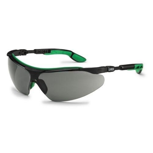 uvex Schweißerschutzbrille 9160041 i-vo, schwarz-grün, Schutzstufe 1,7, Beschlagfrei, Kratzfest