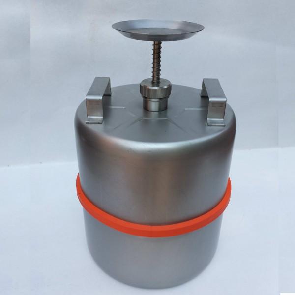 Rötzmeier Sparanfeuchter 10 Liter Typ SP10 aus Edelstahl (V2A) unpoliert