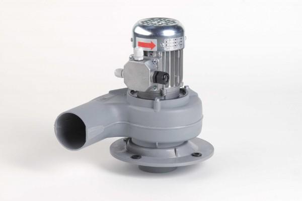 Kleinradialventilator FRv 110+/4/F/PTO, 20 - 375 m³/h, 4-polig, mit Flansch