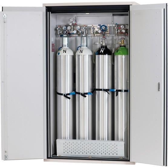 Gasflaschenschrank G90.205.120, 4 Gasflaschen à 50 Liter, G-Ultimate 90, EN 14470-2, asecos