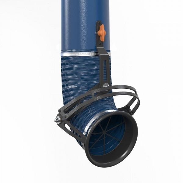 Fumex Absaugarm PRX 2000 Schwerlast mit Wandkonsole, für die Industrieumgebung