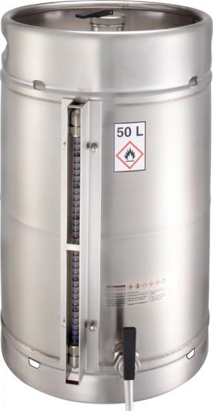 Rötzmeier Sicherheitsstandgefäß 50 Liter, Typ 50ZI mit Zapfhahn und Inhaltsanzeige