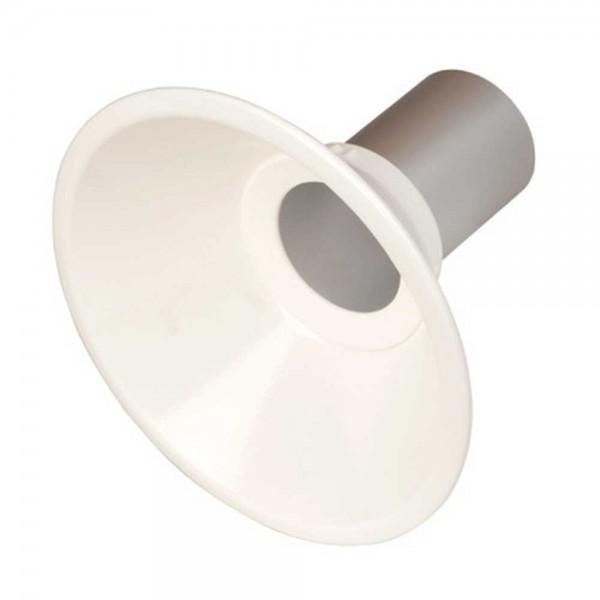 Fumex Metallhaube Ø 250 mm, MEM 250-75, PP, für Absaugarm ME