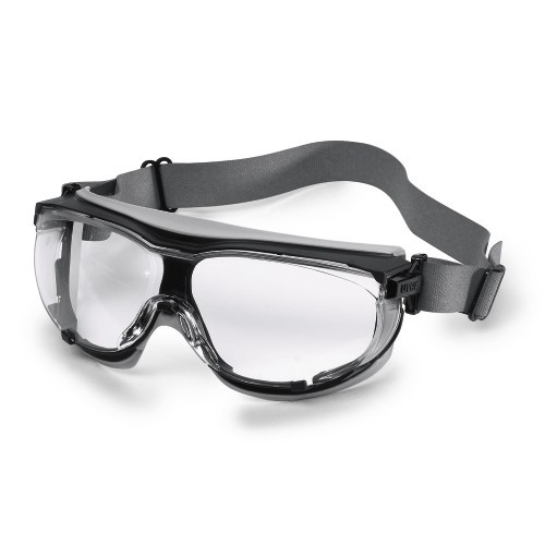 uvex Vollsichtschutzbrille 9307365 carbonvision, Neoprene-Kopfband, PC farblos
