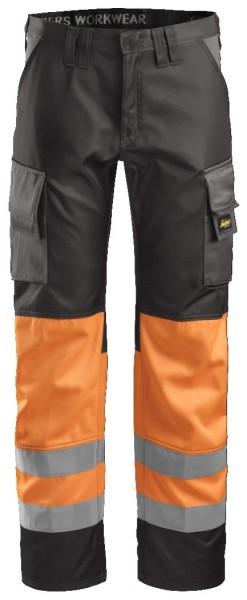 Snickers Workwear 3833 High-Vis Arbeitshose, EN 20471 Klasse 1