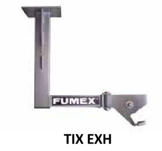 Fumex Deckenkonsole TIX EXH für ATEX-Absaugarme R EXHC/EXH