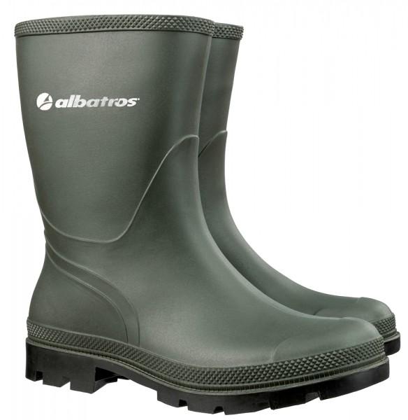 Albatros THE RANCHER PVC-Stiefel SRA grün, DIN ISO 20347