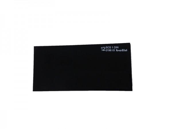 bolle Schweißfilter MP1210550 - Mineral - Schweißtönung 12, 105 x 50 mm, 10 Stück