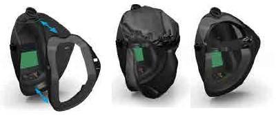 CleanAIR Gesichtabdichtung für CA-20 Schweißhaube