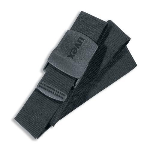 uvex elastischer Gürtel schwarz Modell 8917 mit Kunststoff-Schließe