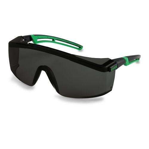 uvex Schweißerschutzbrille 9164145 astrospec 2.0, PC grau, Schutzstufe 5, Panoramascheibe