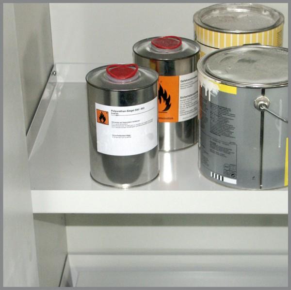 Priorit Wannenboden EN32U-WBO-VA, Edelstahl, für Untertisch-Sicherheitsschrank EN32U, Typ30