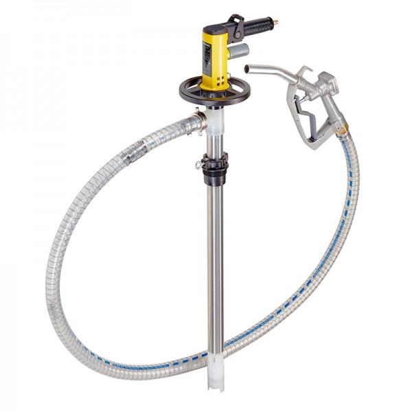 IBC-Pumpen-Set Alu mit Motor MD2xL, 1200 mm Tauchtiefe, für Mineralöle