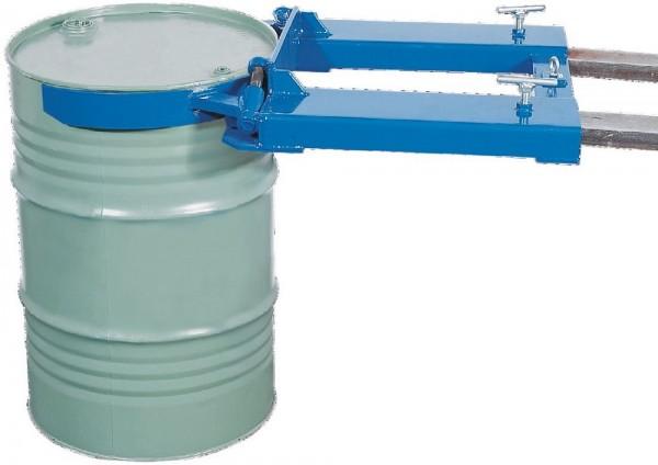 Fassheber für 1 Fass, Stahl pulverbeschichtet, 710 x 1100 x 160 mm