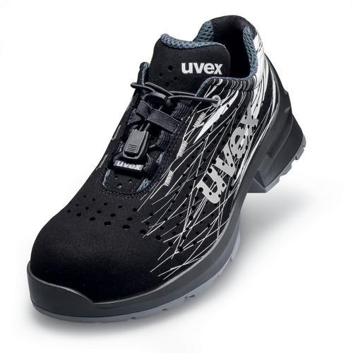 Sicherheitsschuhe uvex 1 Halbschuhe 6556 S1 SRC, schwarz