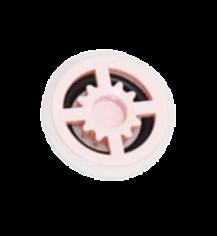 B-Safety Automatischer Mengenregulator rosa 97B14 für Augenduschen