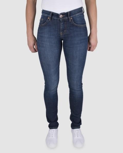 Dunderdon Berufsbekleidung Womens Line 5-Pocket Damen-Jeans P51 blau