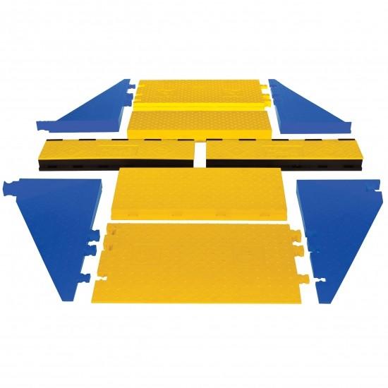 Checkers Yellow Jacket 3-Kanal AMS-Kabelschutz Kit 1, 181 x 198 x 8 cm