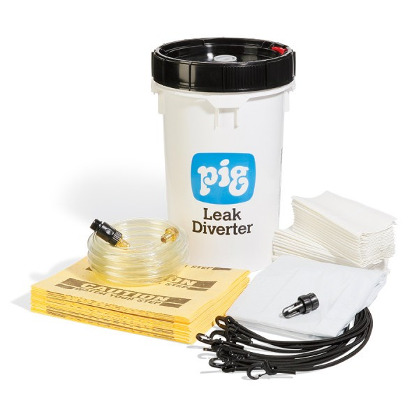 Leak Diverter-Eimerkit TLS668, 213 x 213 cm, für Dächer