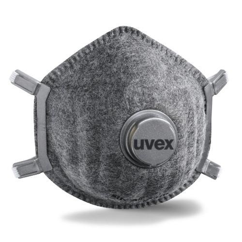 uvex Atemschutzmaske silv-Air p 7310 FFP 3 R D, Formmaske mit Ventil